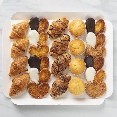 Bandeja de mini bollería dulce (24 piezas)