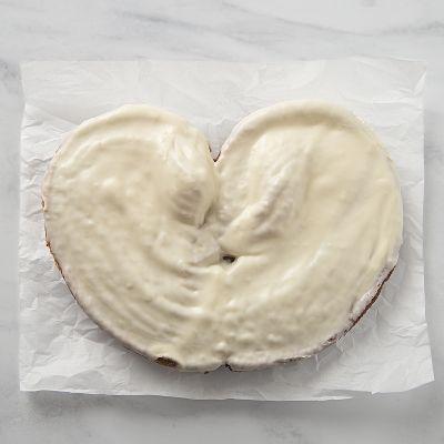 Palmera de chocolate blanco
