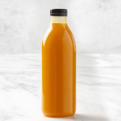 Zumo de naranja natural botella