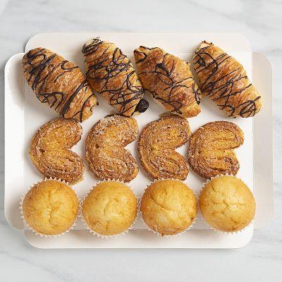 Bandeja de mini bollería dulce (12 piezas)